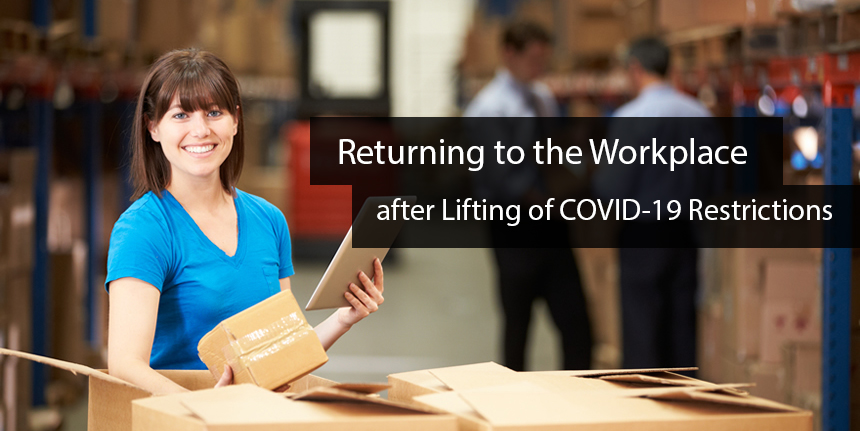 Free Module – Returning to the Workplace after Lifting of Covid-19 Restrictions.